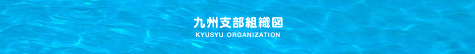九州支部組織図
